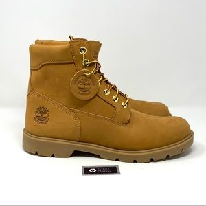 "Men's Timberlands Boots, 6"" Wheat Nubuk Waterproof"